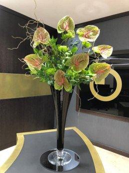 anthuriums, chrysanthemums,